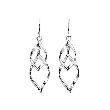 Women S Drop Earrings Silver Jewelry For
