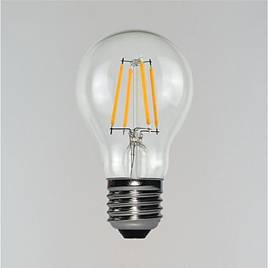 3 W 190-290 lm E26 / E27 LED Λάμπες Πυράκτωσης Α19 4 LED χάντρες