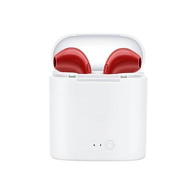 abordables Ecouteurs & Casques Audio-LITBest i7s Casque TWS True Wireless Sans Fil EARBUD 4.2 Cool