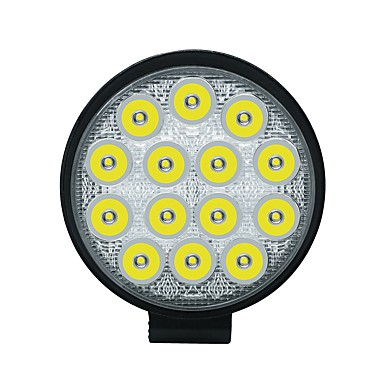 economico Luci da lavoro per veicoli-1pcs Connessione cablata Auto Lampadine 42 W COB 3550 lm 14 LED Luce antinebbia / Luce da lavoro Per Universali Tutti gli anni