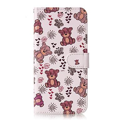 Недорогие Чехлы и кейсы для Galaxy S6-Кейс для Назначение SSamsung Galaxy S9 / S9 Plus / S8 Plus Бумажник для карт / С узором Чехол Животное Твердый Кожа PU
