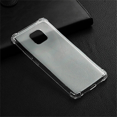 voordelige Huawei Y-serie hoesjes / covers-hoesje Voor Huawei Huawei Honor 10 / Honor 9 / Huawei Honor 9 Lite Schokbestendig / Transparant Achterkant Transparant Zacht TPU