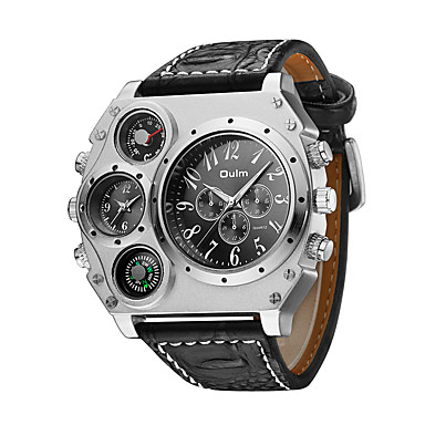 ec68547ef9b cheap Men's Watches-Oulm Men's Military Watch