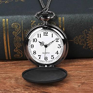 ieftine Ceasuri Bărbați-Bărbați Ceas de buzunar Quartz Negru Ceas Casual Mare Dial Analog Casual - Negru