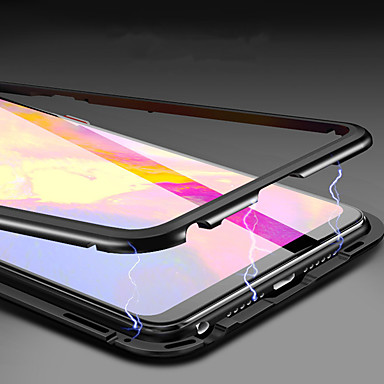 billige Etuier/covers til Huawei-Etui Til Huawei Huawei Mate 20 Pro / Huawei Mate 20 Magnetisk Fuldt etui Ensfarvet Hårdt Tempereret glas for Huawei Mate 20 lite / Huawei Mate 20 pro / Huawei Mate 20