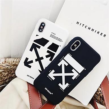 voordelige iPhone-hoesjes-hoesje Voor Apple iPhone XS / iPhone XR / iPhone XS Max Patroon Achterkant Geometrisch patroon Zacht TPU