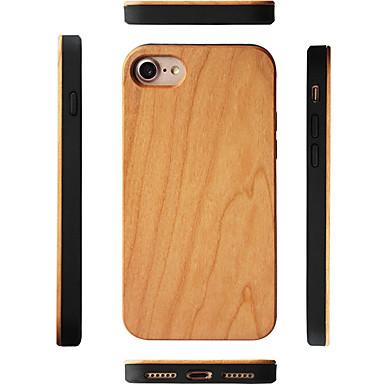 voordelige iPhone 6 Plus hoesjes-hoesje Voor Apple iPhone XS / iPhone XR / iPhone XS Max Schokbestendig Achterkant Houtnerf Hard Puinen / Bamboe