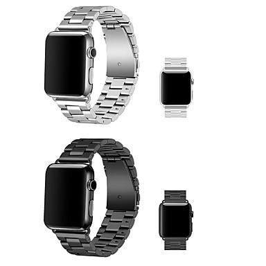 voordelige Smartwatch-accessoires-Horlogeband voor Apple Watch Series 5/4/3/2/1 Apple Moderne gesp Roestvrij staal Polsband