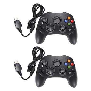 olcso Xbox 360 tartozékok-2. tétel fekete vezetékes vezérlő játékpad a Microsoft xbox rendszer 2-es típusához