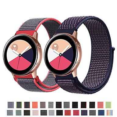 voordelige Horlogebandjes voor Samsung-Horlogeband voor Samsung Galaxy Active Samsung Galaxy Sportband Nylon Polsband