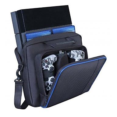 olcso Videojáték tartozékok-hordozható és tartós hordtáska játékkártya / játékvezérlőhöz / ps4 fekete