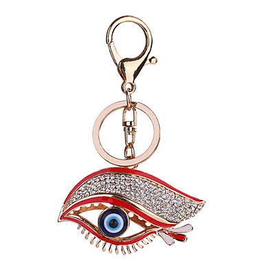 adc8a90d98 cheap Keychains-Keychain Eyes Fashion Ring Jewelry Evil Eye Red For Causal  Daily