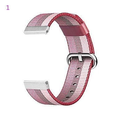 Недорогие Ремешки для часов Huawei-Ремешок для часов для Huawei Watch Huawei Спортивный ремешок Нержавеющая сталь / Нейлон Повязка на запястье
