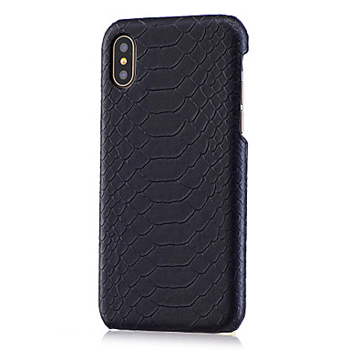 voordelige iPhone 7 hoesjes-hoesje Voor Apple iPhone XS / iPhone XR / iPhone XS Max DHZ Achterkant dier Hard PU-nahka