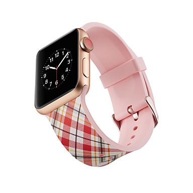 Недорогие Ремешки для Apple Watch-SmartWatch Band для Apple Watch серии 4/3/2/1 силиконовые классические пряжки ремешок iwatch