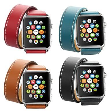 Недорогие Ремешки для Apple Watch-Hermes двухполосный ремешок для Apple Watch серии Smart Watch серии 4/3/2/1 ремешок на запястье