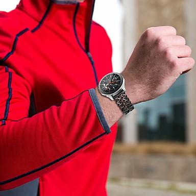 voordelige Horlogebandjes voor Samsung-Horlogeband voor Gear S3 Frontier / Gear S3 Classic / Gear S3 Classic LTE Samsung Galaxy Klassieke gesp Teräs Polsband