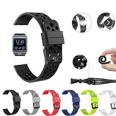 voordelige Horlogebandjes voor Samsung-Horlogeband voor Gear 2 R380 / Gear 2 Neo R381 / Gear Live Samsung Galaxy Sportband Silicone Polsband