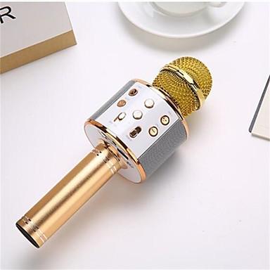 ieftine Accesorii Audio & Video-profesionale wireless karaoke microfon difuzor condensator microfono cu sac bluetooth radio studio record mic