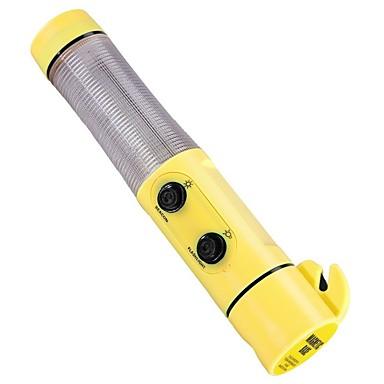 voordelige Noodgereedschap-4 in 1 auto noodsport auto veiligheid escape tools hamer veiligheidsgordel flasher cutter