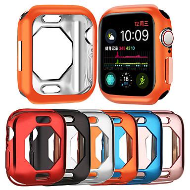 Недорогие Кейсы для Apple Watch-Чехлы для Apple Watch серии 4 совместимость с ТПУ Apple инновационный восьмиугольный ТПУ полый корпус защитный рукав