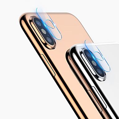 Недорогие Защитные плёнки для экранов iPhone 8 Plus-Прозрачная пленка HD для iphone x / xs / xs max / xr / 7 / 7s plus / 8/8 plus протектор экрана объектива камеры из закаленного стекла