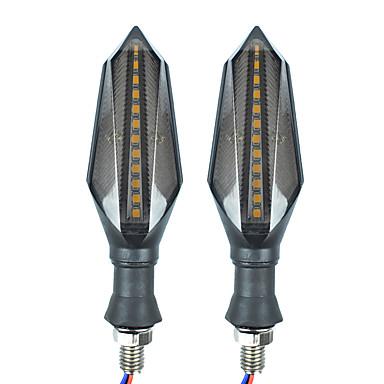 Недорогие Фары для мотоциклов-2шт мотоцикл лампочки светодиодные указатели поворота на все годы