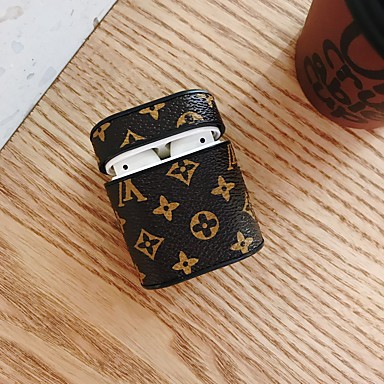 cheap AirPods Cases-Case For AirPods Shockproof / Ring Holder / Pattern Headphone Case Hard