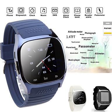 זול שעונים חכמים-m26s חכם לצפות באישה גברים Bluetooth מד גובה שעון עצר smartwatch סנכרון מוסיקה מד צעדים נגד אבודים עבור הטלפון החכם אנדרואיד