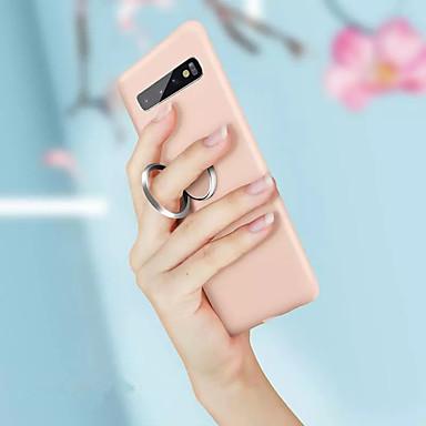 voordelige Galaxy S-serie hoesjes / covers-magnetische ring zachte tpu case voor samsung galaxy s10 plus s10 e s10 s9 plus s9 s8 plus s8 schokbestendige houder voor vloeibare siliconen