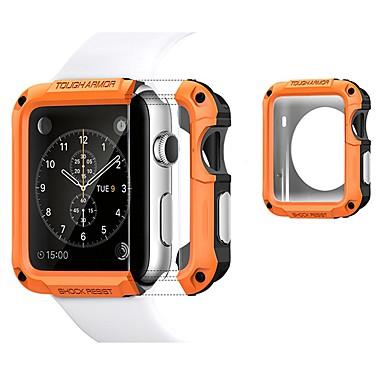 Недорогие Кейсы для Apple Watch-чехлы для яблочных часов серии 4/3/2/1 пластик / тпу совместимость apple