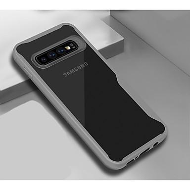 voordelige Galaxy A-serie hoesjes / covers-hoesje Voor Samsung Galaxy Galaxy A7(2018) Schokbestendig / Stofbestendig Achterkant Geometrisch patroon Zacht TPU / silica Gel