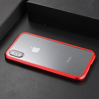 Недорогие Кейсы для iPhone-Кейс для Назначение Apple iPhone XS / iPhone XR / iPhone XS Max Прозрачный Кейс на заднюю панель Прозрачный Твердый Закаленное стекло