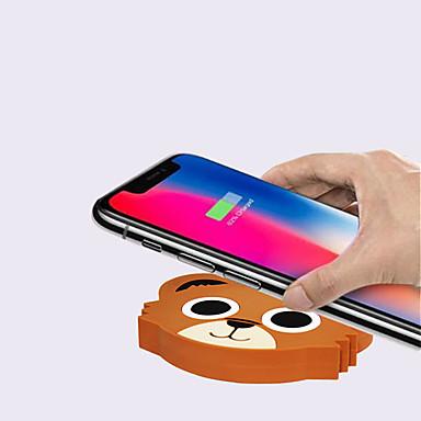 Недорогие Гаджеты для Samsung-быстрое беспроводное зарядное устройство qi для samsung galaxy s9 / s9 s8 s7 note 9 s7 edge usb зарядное устройство qi для iphone xs max xr x 8 plus