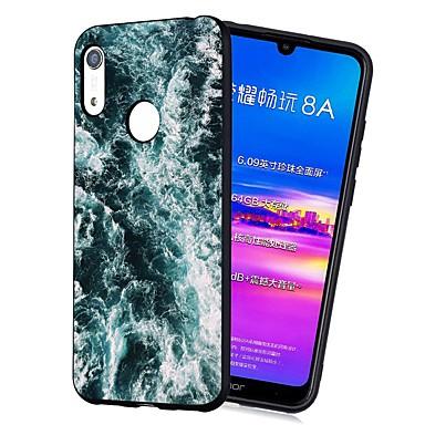 voordelige Huawei Y-serie hoesjes / covers-hoesje Voor Huawei Huawei Nova 3i / Y7 Prime (2018) / Huawei Y7 2019 Schokbestendig / Mat / Patroon Achterkant Landschap Zacht TPU