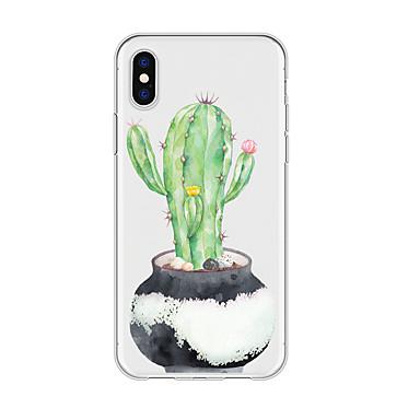 voordelige iPhone 5 hoesjes-hoesje Voor Apple iPhone XS / iPhone XR / iPhone XS Max Waterbestendig / Patroon Achterkant Boom / Bloem TPU