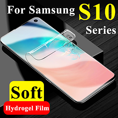 cheap Up to $0.99-soft screen protector for samsung galaxy s10 plus protective on sumsung s10e lite tpu hydrogel film 10s 10e 10 e s10plus display