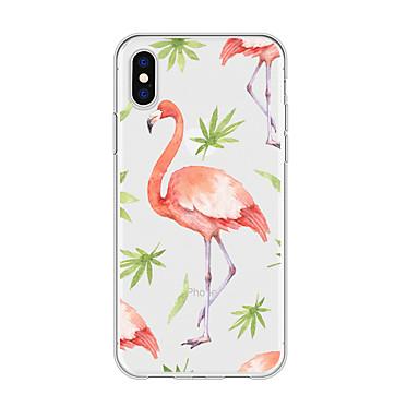 voordelige iPhone 5 hoesjes-hoesje voor iphone x xs max xr xs achterkant zachte hoes tpu flamingo zachte tpu voor iphone5 5s se 6 6p 6s sp 7 7p 8 8p16 * 8 * 1