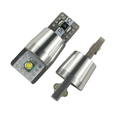 voordelige Autobinnenverlichting-Otolampara fit voor 2019 2018 2017 toyota rav4 camry kaart licht led-lampen dubbele kanten kentekenplaatverlichting led-lampen