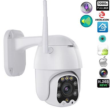 ieftine Camere IP-wifi camera in aer liber PTZ ip camera h.265x 1080p viteza dome cctv camere de supraveghere ip camera wifi exterior 2mp ir home supraveghere