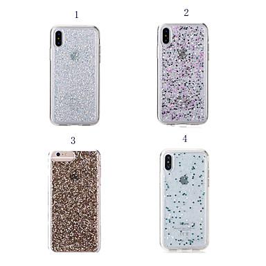 voordelige iPhone-hoesjes-hoesje voor apple iphone xr / iphone xs max glitter shine / shockproof achterkant glitter shine / soft tpu voor iphone 6 / iphone 6 plus / 7 / 7pius / 8 / 8pius / x / xs