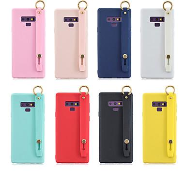 voordelige Galaxy Note-serie hoesjes / covers-hoesje Voor Samsung Galaxy Note 9 / Note 8 met standaard / Mat Achterkant Effen TPU