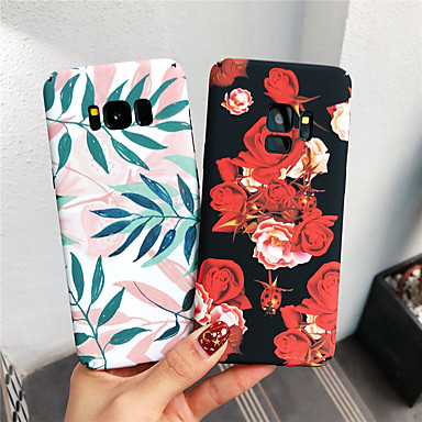 voordelige Galaxy Note-serie hoesjes / covers-hoesje Voor Samsung Galaxy Note 9 / Note 8 Glow in the dark / Patroon Achterkant Bloem Hard PC
