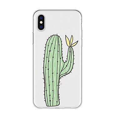 voordelige iPhone 5 hoesjes-hoesje voor iphone x xs max xr xs achterkant zachte hoes tpu simple cactus soft tpu voor iphone5 5s se 6 6p 6s sp 7 7p 8 8p16 * 8 * 1