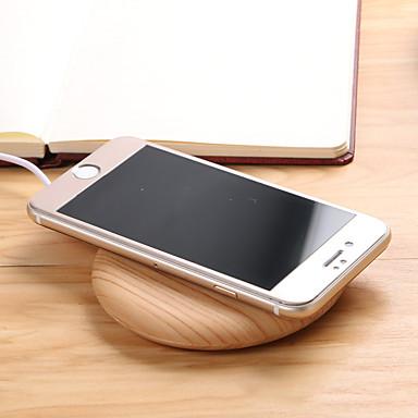 Недорогие Гаджеты для Samsung-Портативное зарядное устройство / Беспроводное зарядное устройство Зарядное устройство USB Универсальный с кабелем / Беспроводное зарядное устройство 1 USB порт 1 A DC 5V для Универсальный