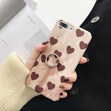 Недорогие Кейсы для iPhone-Кейс для Назначение Apple iPhone XS / iPhone XR / iPhone XS Max Спиннеры от стресса / со стендом / С узором Кейс на заднюю панель С сердцем / Мультипликация ПК