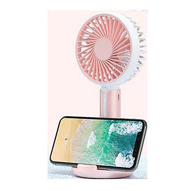 voordelige Slimme trackers-kleine ventilator draagbare mini usb oplaadventilator handheld draagbare bureau elektrische handventilator kleine schattige ultrastille grote wind