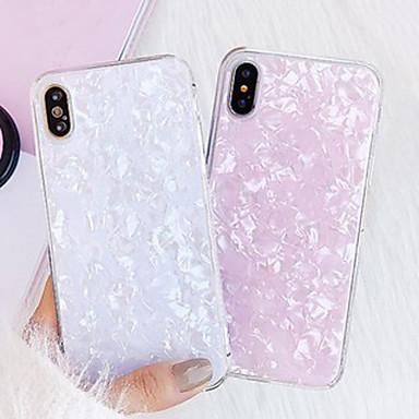 Недорогие Кейсы для iPhone-Кейс для Назначение Apple iPhone XR / iPhone XS Max / iPhone X Защита от пыли / Ультратонкий / Резервная копия Кейс на заднюю панель Цвет неба / Градиент цвета силикагель