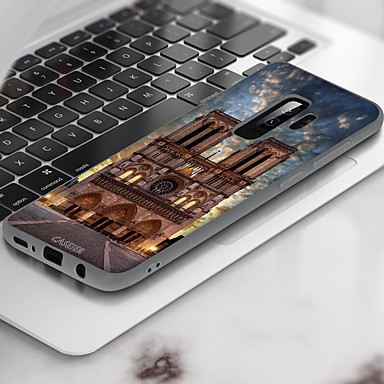 Недорогие Чехлы и кейсы для Galaxy A7-чехол для samsung galaxy a7 пыленепроницаемый / ультратонкий / узор задняя крышка декорации мягкое тпу / водонепроницаемый мода / высокое качество и высокое качество / индивидуальность творчество