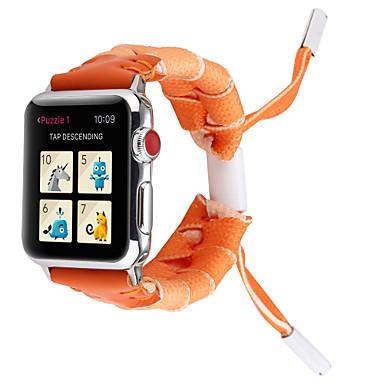 Недорогие Ремешки для Apple Watch-Горячая распродажа 9 цветов новый личность кружева тканый ремешок для apple watch band 38/40 мм 42/44 мм серии 4 3 2 1